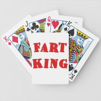 Fart King Bicycle Card Deck