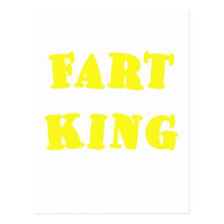 Fart King Postcard