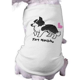 Fart la máquina (el border collie) ropa de perro