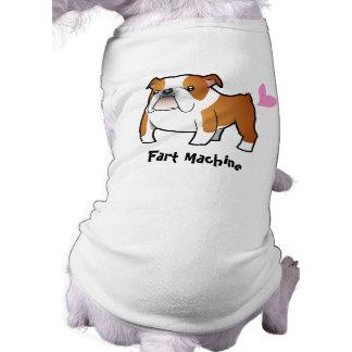Fart la máquina (el dogo) camiseta de perro