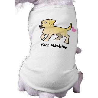 Fart la máquina (el labrador retriever) camisetas de mascota