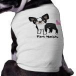 Fart la máquina (el terrier de Boston) Camiseta De Mascota