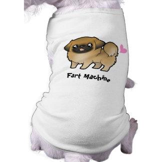 Fart la máquina (pekingese cortada perrito) ropa para mascota