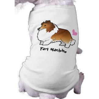 Fart la máquina (perro pastor de Shetland/el colli Ropa De Mascota
