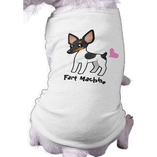 Fart la máquina (rata Terrier/el fox terrier de ju Camisetas De Perrito