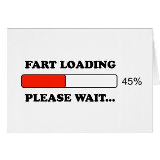 Fart loading card