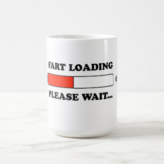 Fart loading coffee mug