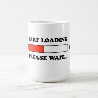 Fart loading coffee mug