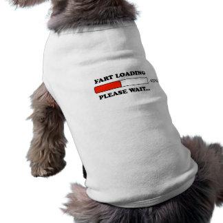 Fart loading dog tee shirt