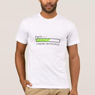 Fart... loading in progress bar icon, shirt. T-Shirt