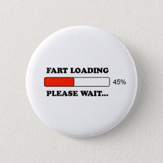 Fart loading pinback button