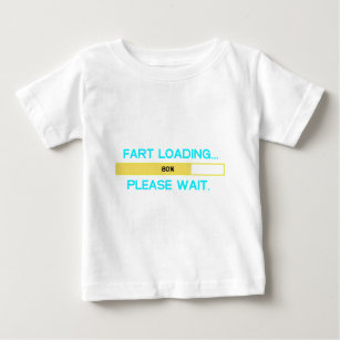 651214f0f129 Fart loading... Please wait Baby T-Shirt