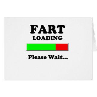 Fart Loading Please Wait Card