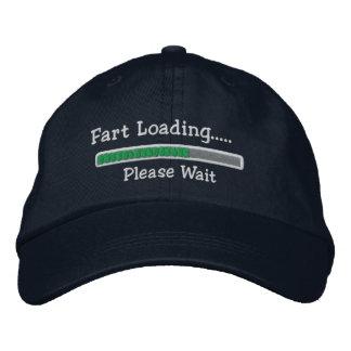 Fart Loading Please Wait Embroidered Baseball Hat