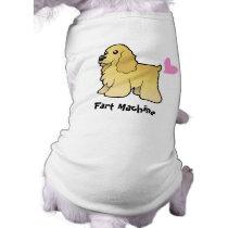 Fart Machine (American Cocker Spaniel) T-Shirt