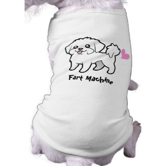 Fart Machine (maltese puppy cut) Tee