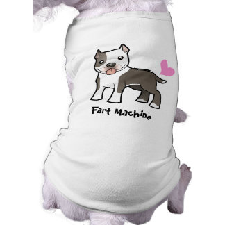 Fart Machine (Pitbull/Am Staffordshire Terrier) Dog Tee Shirt