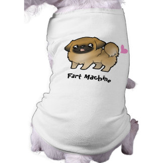 Fart Machine (puppy cut pekingese) T-Shirt