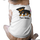 Fart Machine (rottweiler) Doggie Tee Shirt