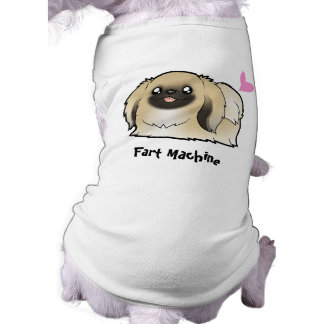 Fart Machine (show cut pekingese) Tee