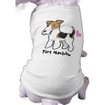 Fart Machine (Wire Fox Terrier) Tee
