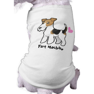 Fart Machine (Wire Fox Terrier) Tee