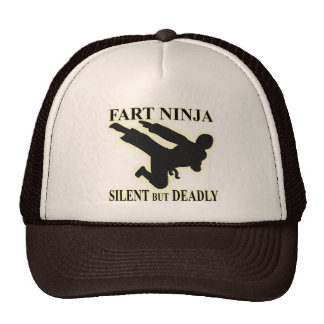 FART NINJA TRUCKER HATS