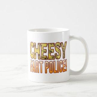 Fart Police Blue Cheesy Coffee Mug