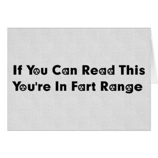 Fart Range Card