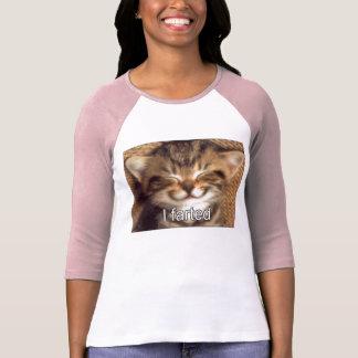 Farted camisa del gatito