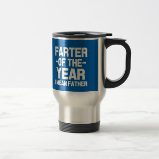 Farter of the Year Funny Dad Mug