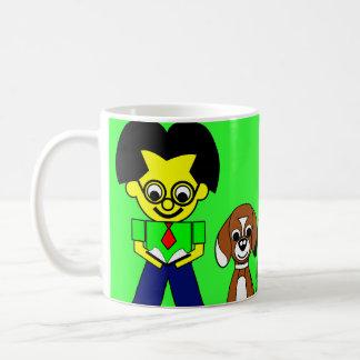 Farther, Beagy, and the boys Coffee Mug