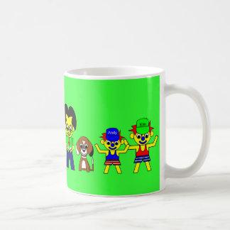 Farther, Beagy, and the boys Mugs