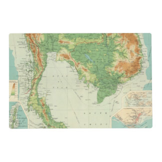 Farther India Placemat
