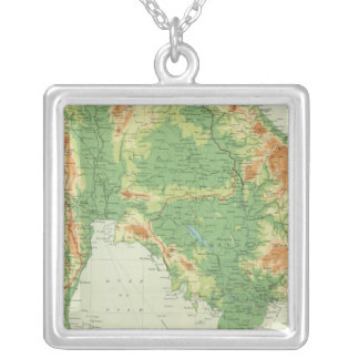 Farther India Silver Plated Necklace