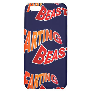 FARTING BEAST - hilarious innuendo humor iPhone 5C Covers