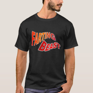 FARTING BEAST - hilarious innuendo humor T-Shirt