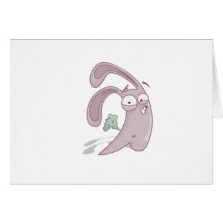 Farting Bunny Card