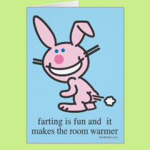 Farting is Fun Card