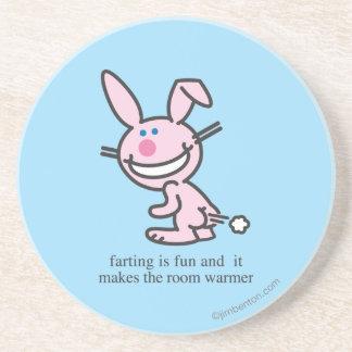 Farting is Fun Drink Coaster