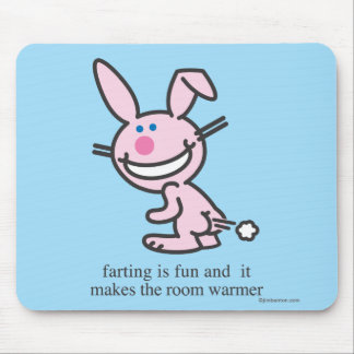 Farting is Fun Mouse Pad