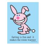 Farting is Fun Postcard