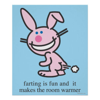 Farting is Fun Poster