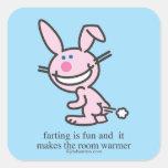 Farting is Fun Sticker
