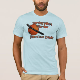Farting Ninja Warrior Silent but Deadly T-Shirt