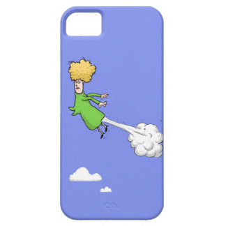 Farting Woman In The Sky iPhone 5  Case
