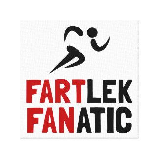 Fartlek Fanatic Canvas Print