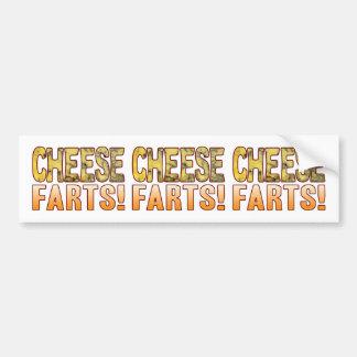 Farts Blue Cheese Bumper Sticker
