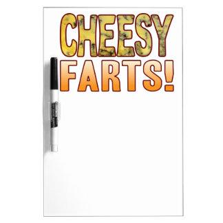 Farts Blue Cheesy Dry Erase Board