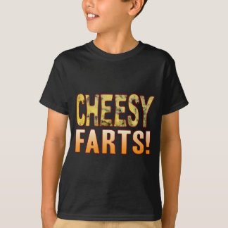 Farts Blue Cheesy T-Shirt